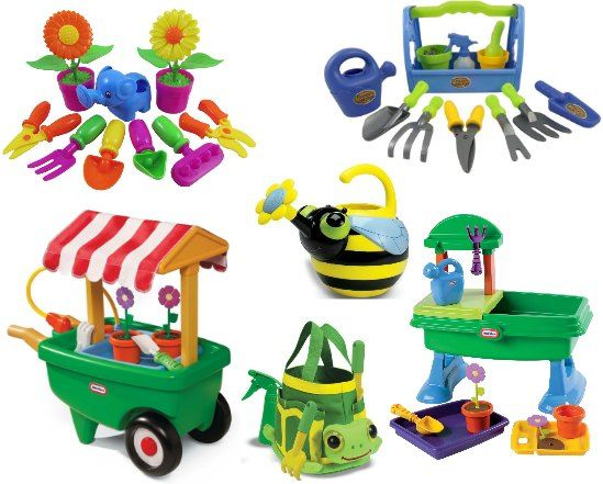 Super Cute Garden Tools For Kids