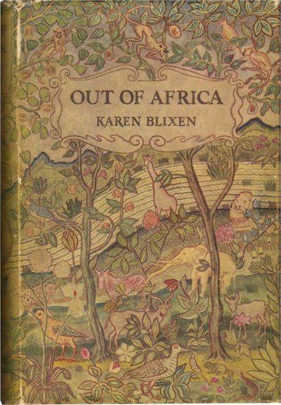 Out of Africa, uma das edições mais lindas que já vi.