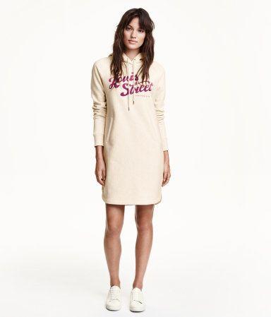 Product Detail | H&M DE | Kleider, Sweatshirt kleid, Kurze ...