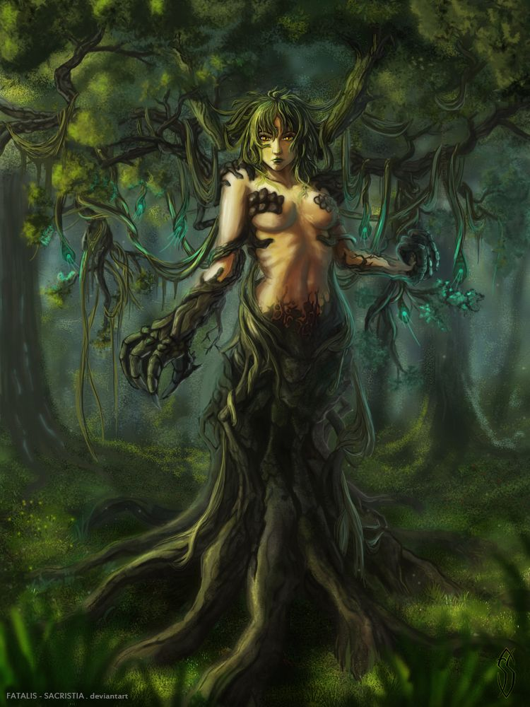 dryad in greek mythology the dryads are female spirits of nature
