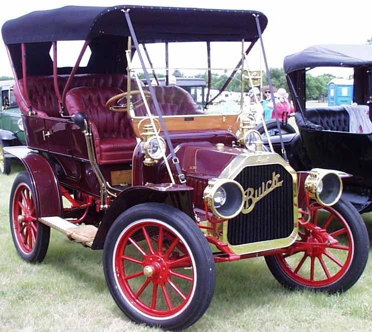 Buick Electric Car: 1910 Buick
