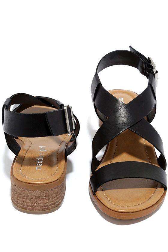 2d2d9cf8ee3 Madden Girl Tulum Black Heeled Sandals   Walkin' the Walk   Sandals ...