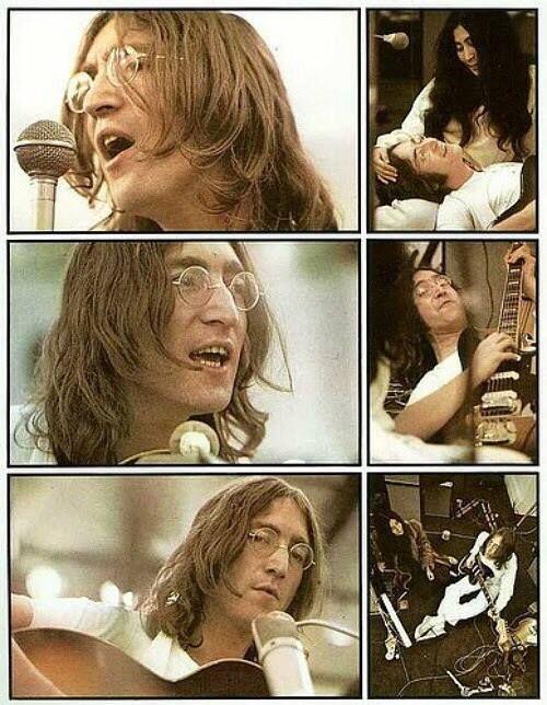 John Lennon, Let It Be movie, 1969