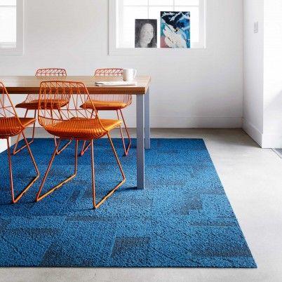 Antique Minx Design Color Trend Blue Green Flor Carpet Tiles Carpet Squares Tile Design