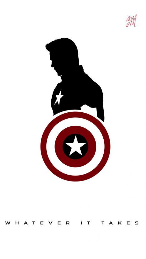 Whatever it Takes Captain America iPhone Wallpaper - iPhone Wallpapers