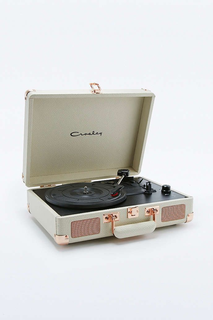 Crosley Cruiser Rose Gold Eu Plug Record Player Urban