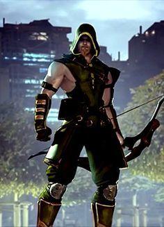 Green Arrow Of Justice League Wallpaper