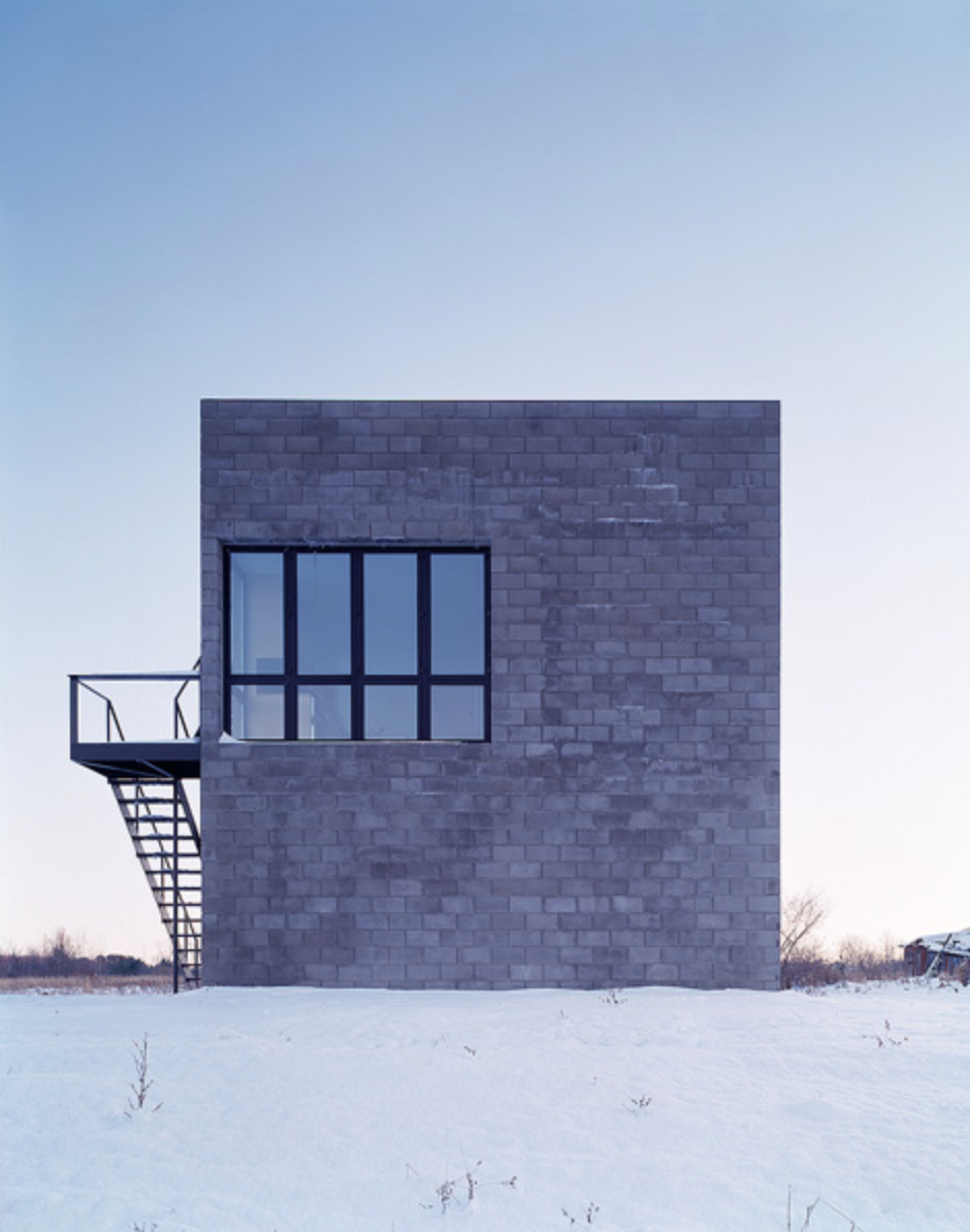 Cube house simon ungers archinterioration pinterest for Modern house upstate ny