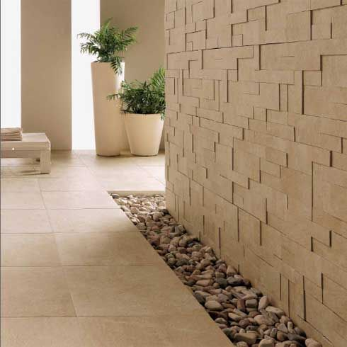 find this pin and more on walls rock pebbles trendy and sophisticated interior design - Rock Wall Design
