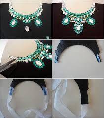 Résultats de recherche d'images pour «diy jewelry necklace ideas»