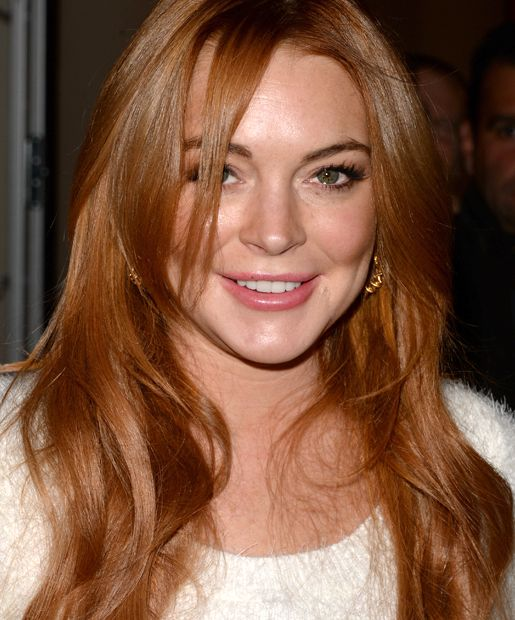 Carrot Tops Gingers And Copper Heads Red Is Hot Lindsay Lohan
