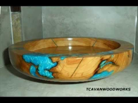 Wood Bowl Turnings By Tcavanwoodworks Etsycom Via