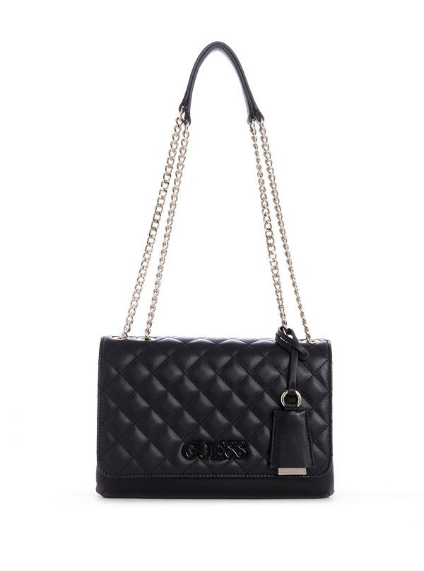 Elliana Quilted Convertible Crossbody   Leather crossbody