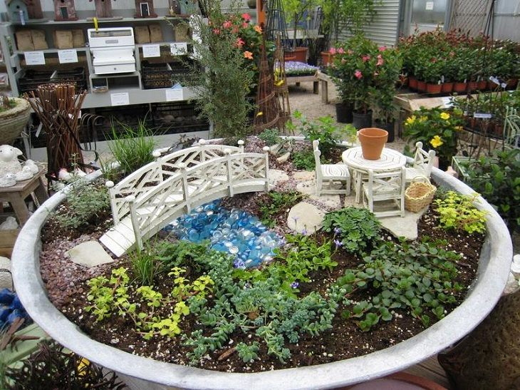 Fairy Garden Ideas Diy 30 diy ideas how to make fairy garden | záhrady, záhrada v