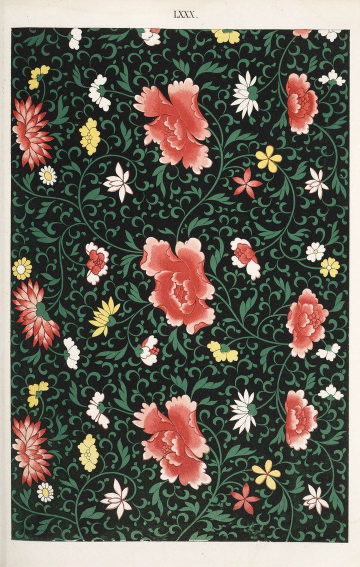Traditional Chinese Patterns Traditional Chinese Flower Patterns