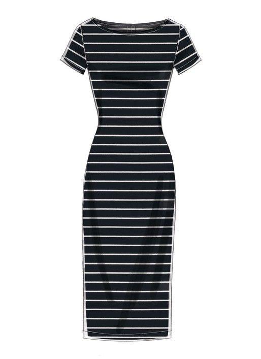 Photo of McCalls Dresses M7531 – The Foldline