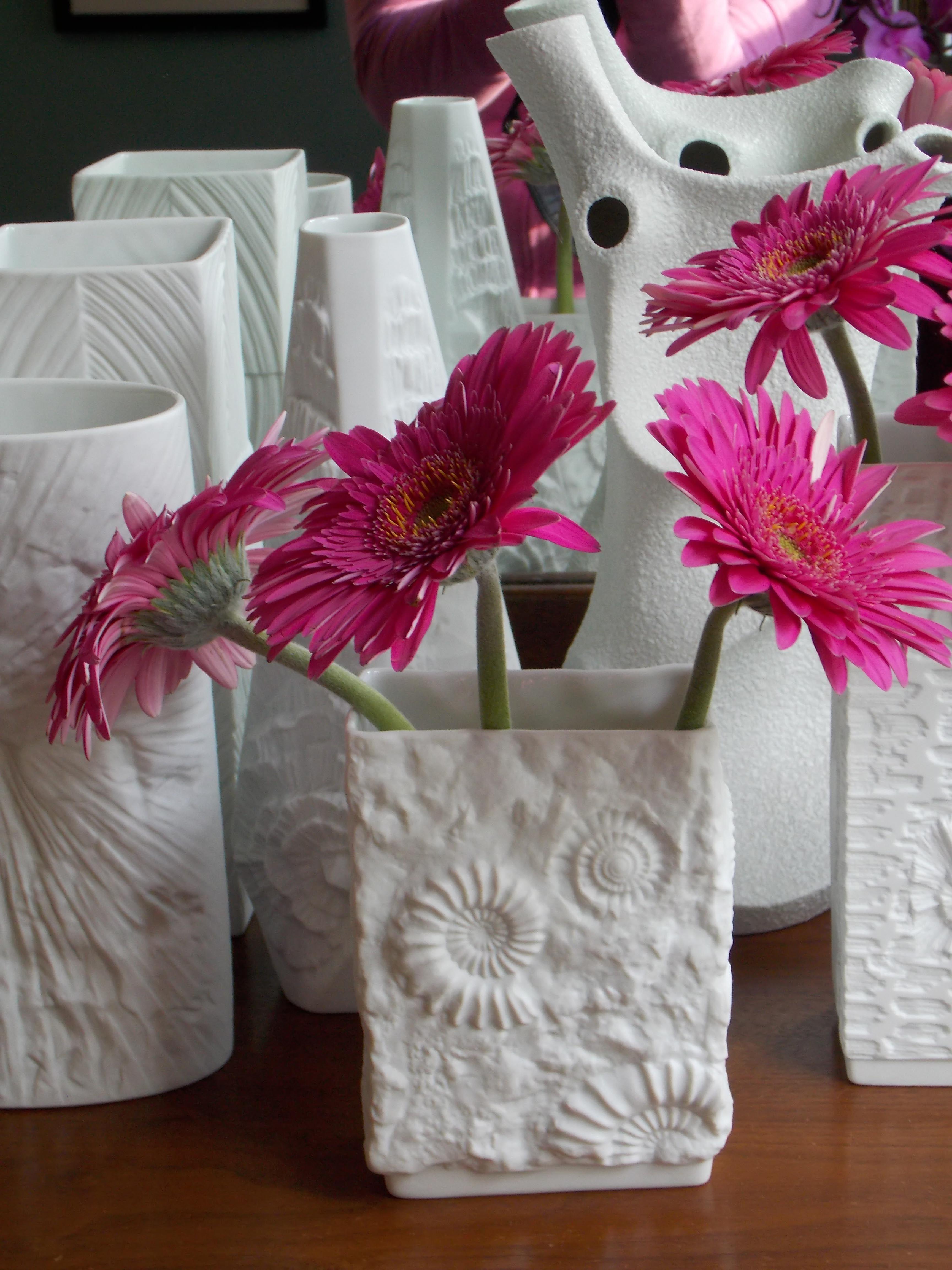 White vintage german porcelain vases midcenturyfla httpswww white vintage german porcelain vases midcenturyfla httpsetsy floridaeventfo Choice Image