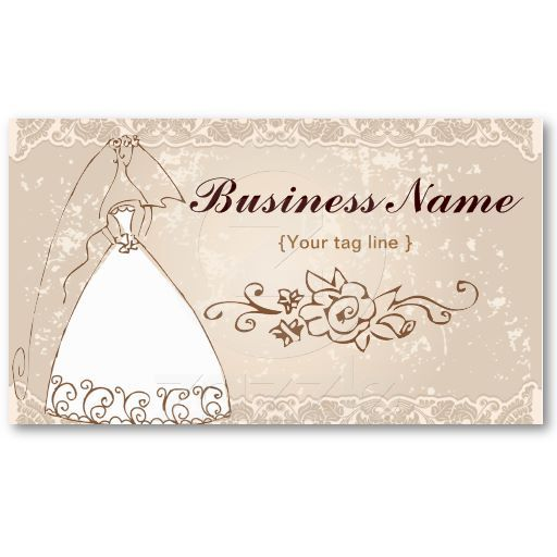 wedding planner business card template - Wedding Planner Business Cards