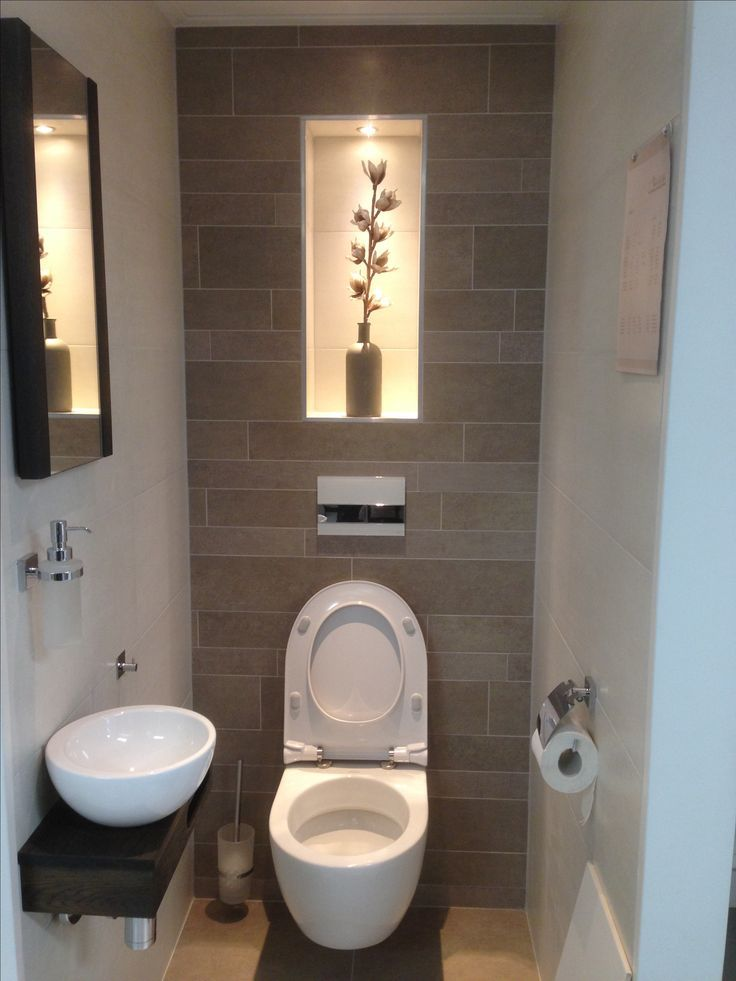 Guest washroom #smalltoiletroom