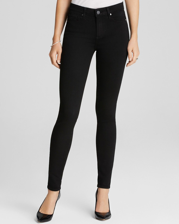 paige denim black skinny jeans - Jean Yu Beauty
