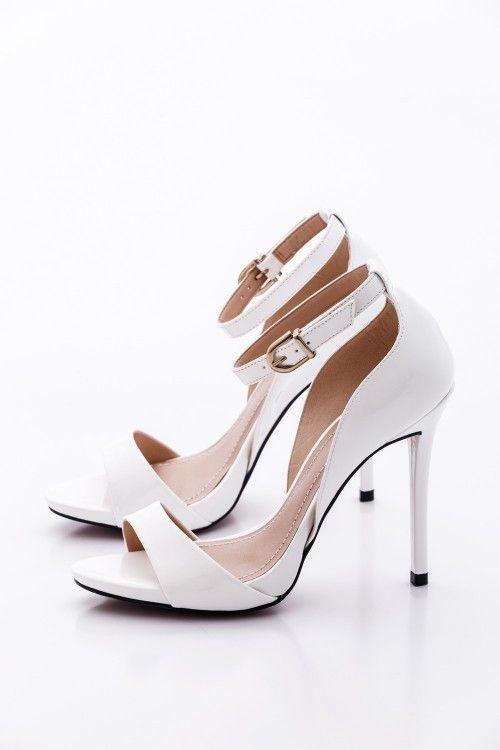Fehér Montonelli Női Magassarkú cipő | Magassarkú, Cipők