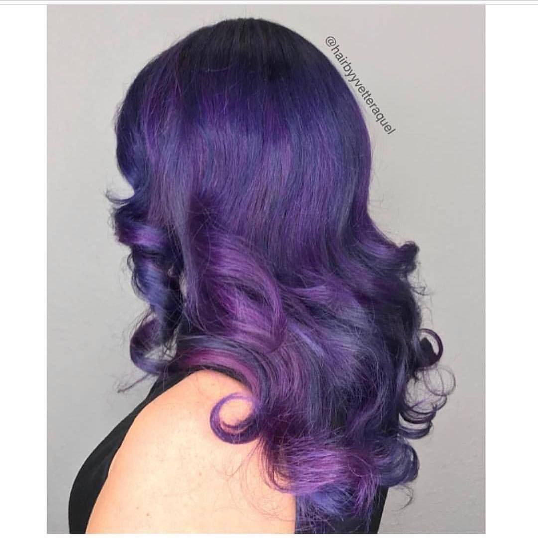 Purple Perfection by hairbyyvetteraquel  Hairstyles u Makeup