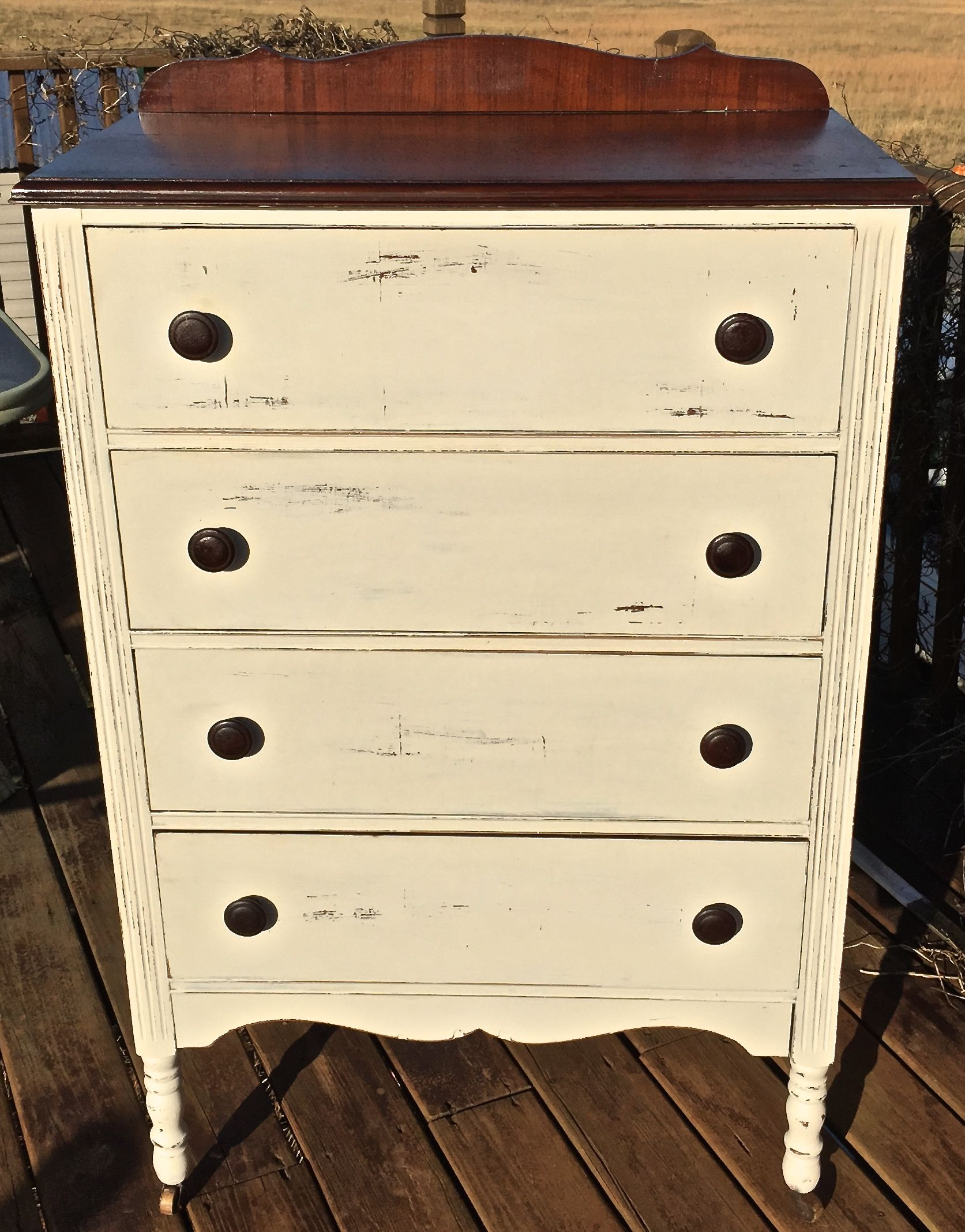 Best Vintage 4 Drawer Chest Of Drawers With Dove Tailed Drawers 400 x 300