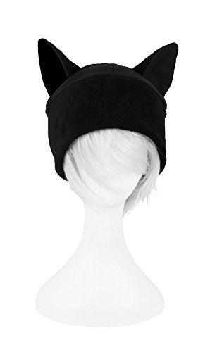 Black Cat Slouch Hat - Free Crochet Cat Hat Pattern   ⁂Gorritos ...