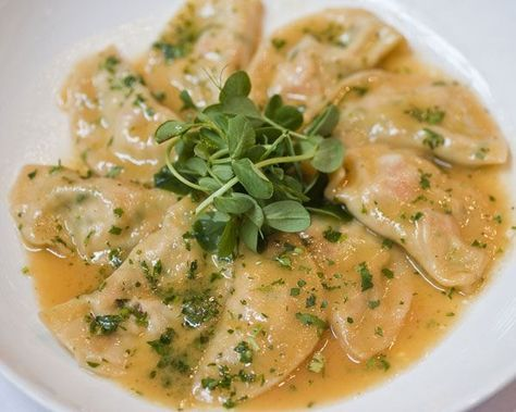 Lemon Ricotta Ravioli Recipe by Emily Jacobs