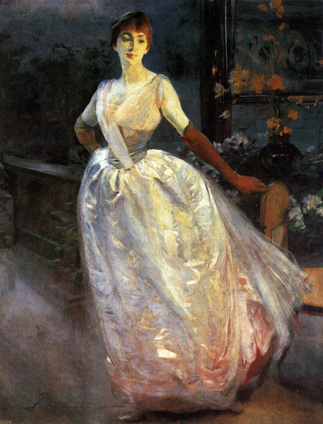 Portrait of Madame Roger Jourdain 1886