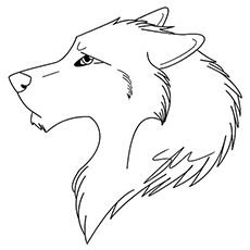 Gallery Top 15 Free Printable Wolf Coloring Pages Online is free HD wallpaper.