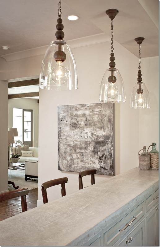 The Southern Acadian House Kitchen Pendant Lighting Home Decor