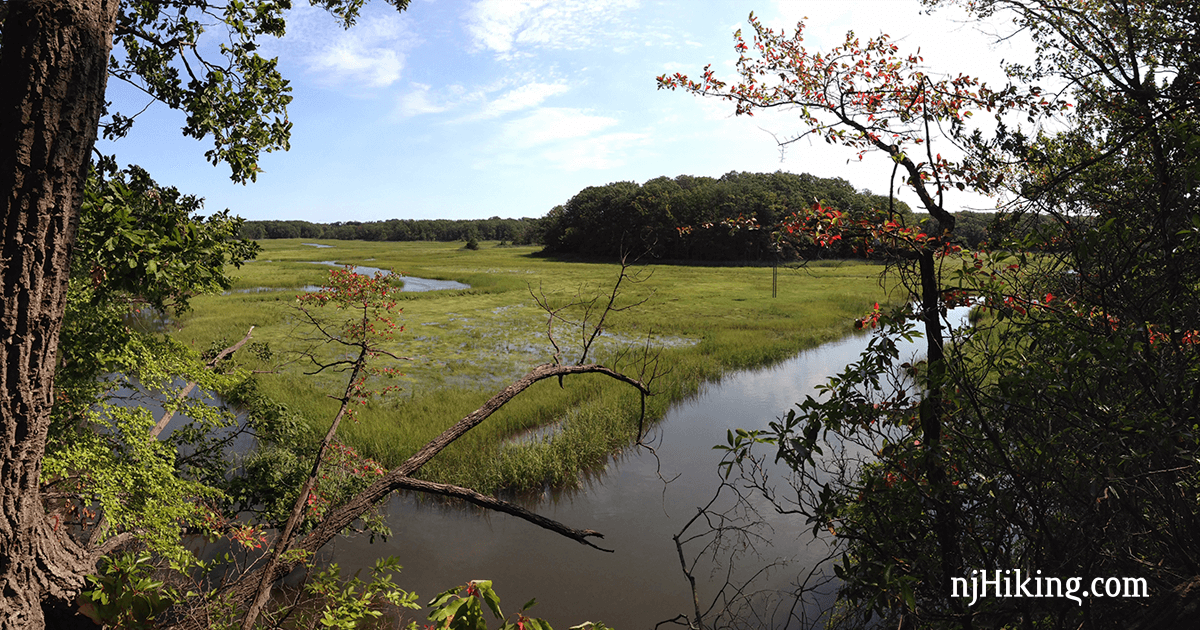 Short hike with a butterfly garden plus a side trip for viewpoints over pretty marshland.