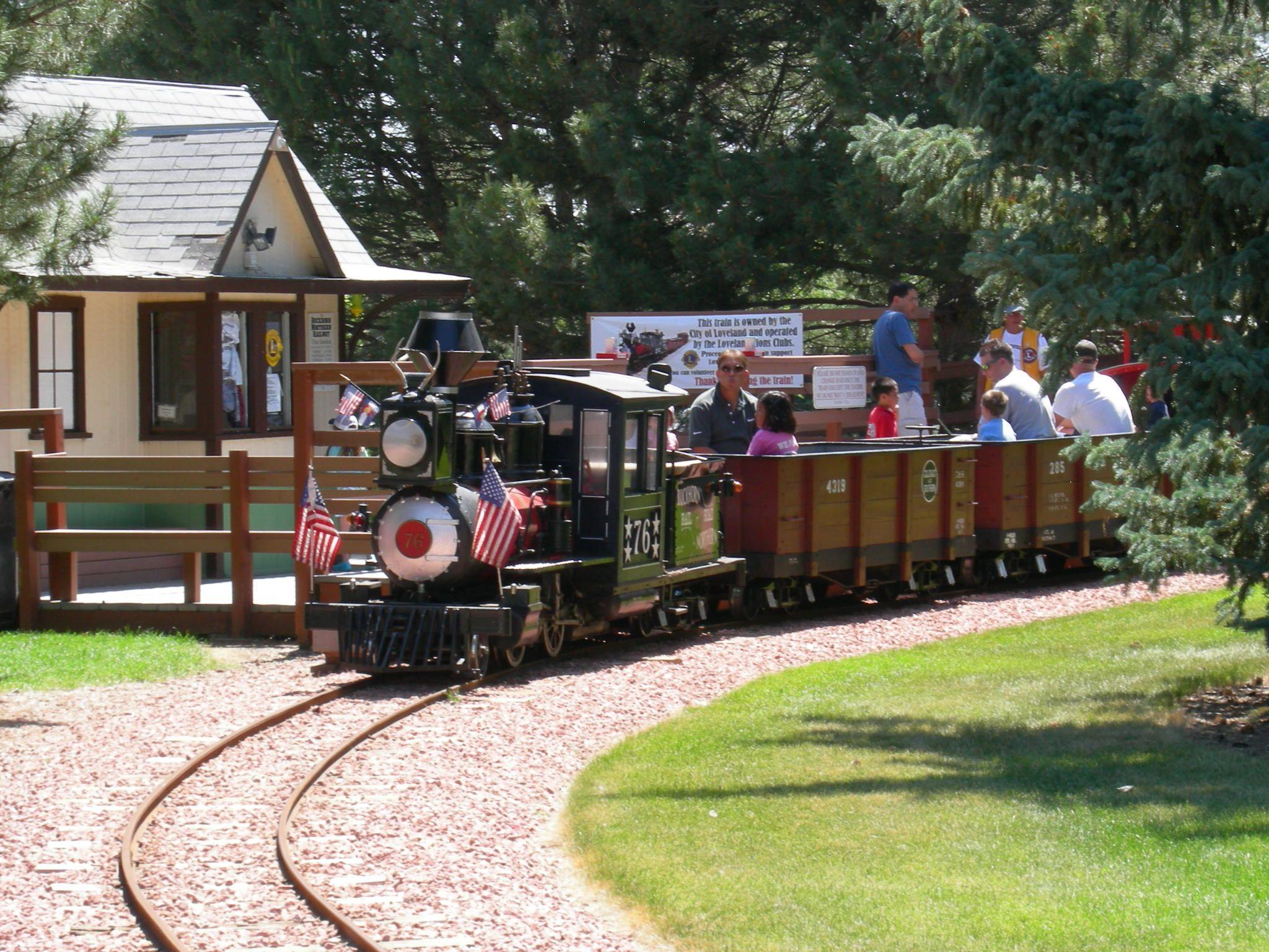 Buckhorn Northern Railroad / Miniature Train at North Lake