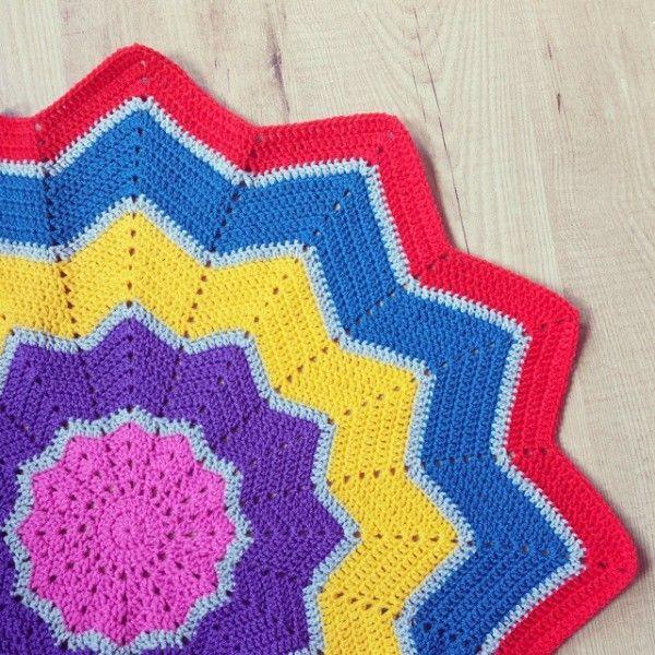 missmotherhook crochet ripple blanket | Crochet Blankets | Pinterest ...