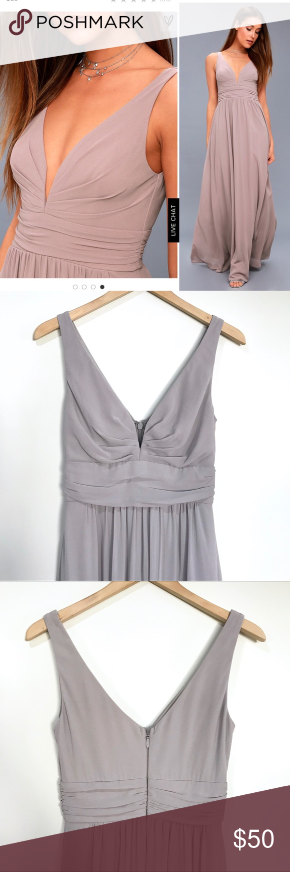 Tricks Of The Trade Taupe Maxi Dress Taupe Maxi Dress Cute Dresses Maxi Dress