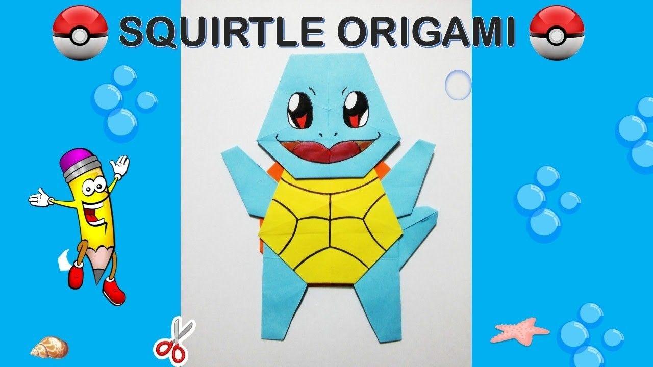 Pokemon go origami squirtle tutorial diy origami how to make pokemon go origami squirtle tutorial diy origami how to make origami easy facil jeuxipadfo Images