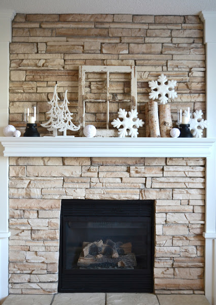 Snowflakes U0026 Accents Of Crisp Winter White? Perfect January Decor!