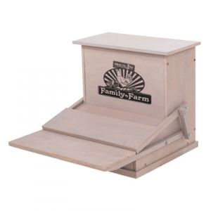 Precision Pet Wood Treadle Chicken Feeder - Mills Fleet Farm