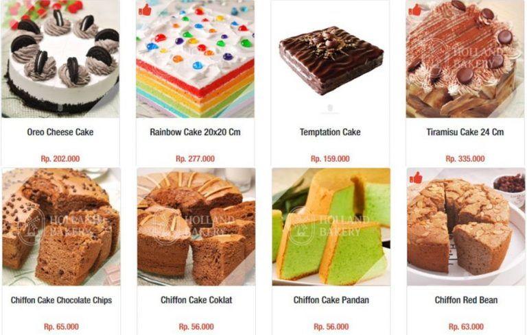 Harga Kue Holland Bakery Terbaru 2019 Hanya Untuk Anda