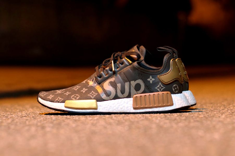 d72514f1a What a Supreme x Louis Vuitton x adidas NMD R1 Collaboration Might Look  Like Footwear Three Stripes Germany French Luxury House Skateboarding