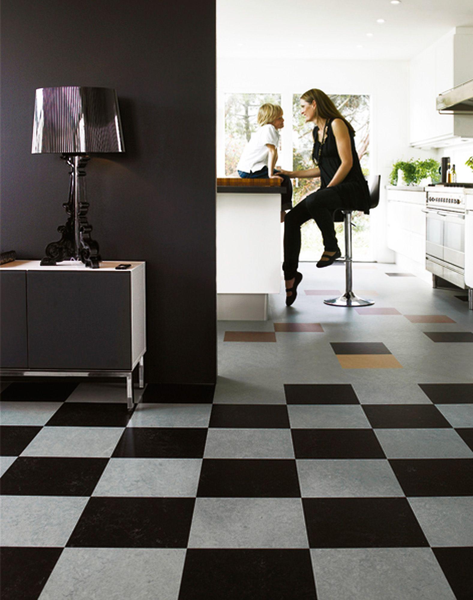 linoleumgolvet marmoleum click frà n forbo flooring kostar 439 kr