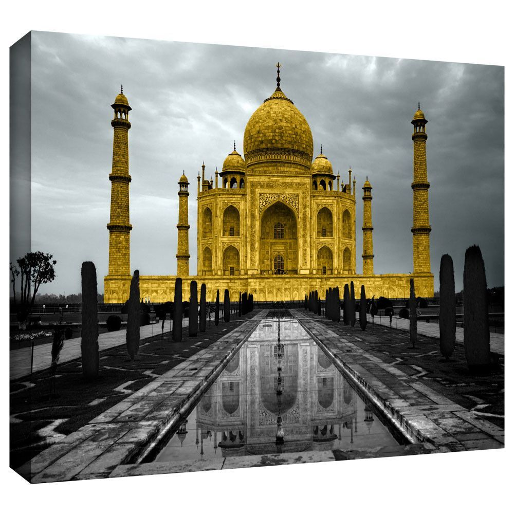 Taj Mahal\' by Revolver Ocelot Photographic Print on Wrapped Canvas ...