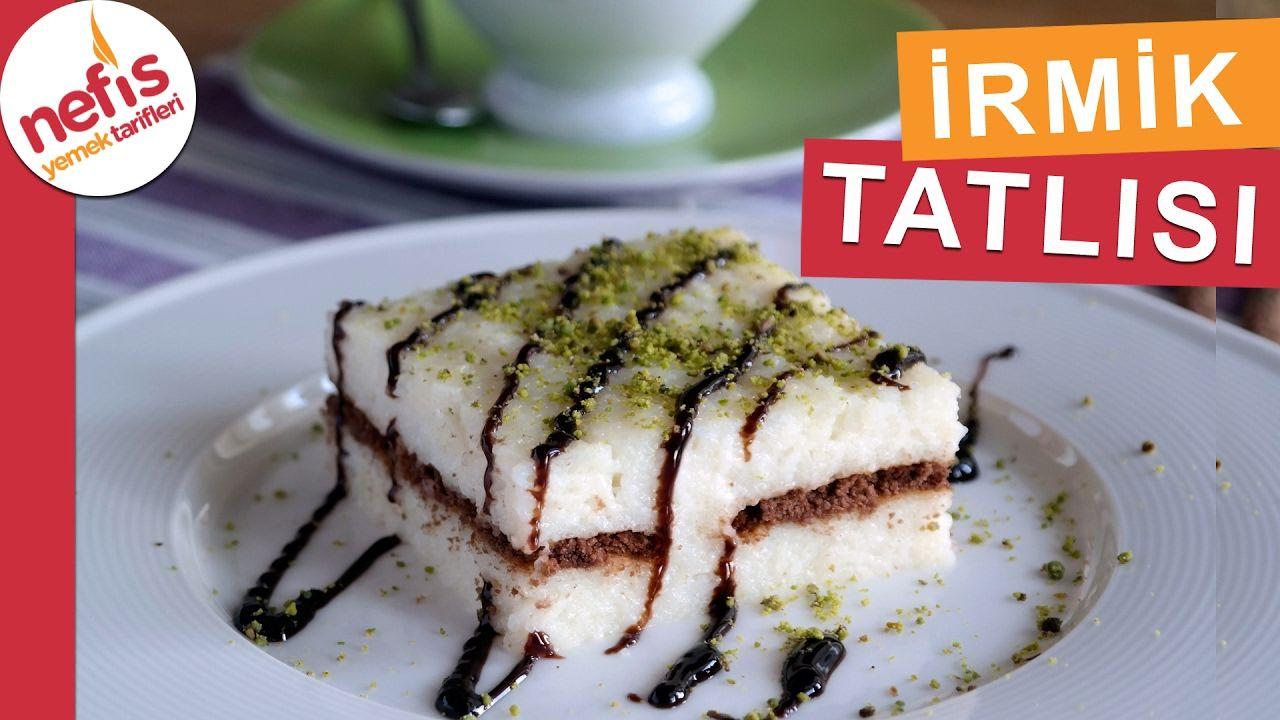 Sütlü İrmik Tatlısı Tarifi Videosu