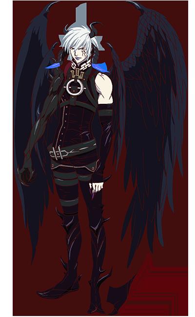 Azazel Quỷ, Thiên thần, Thiết kế nhân vật