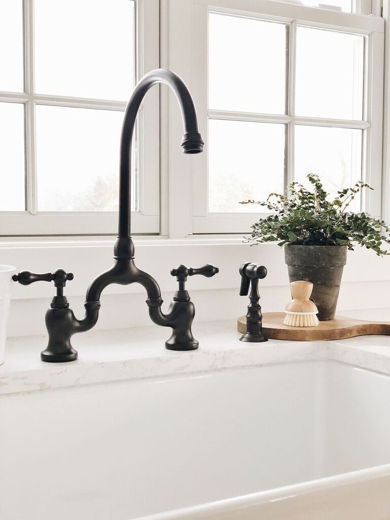 Our New Farmhouse Sink & Setup | Pinterest | Zuhause, Dekoration und ...