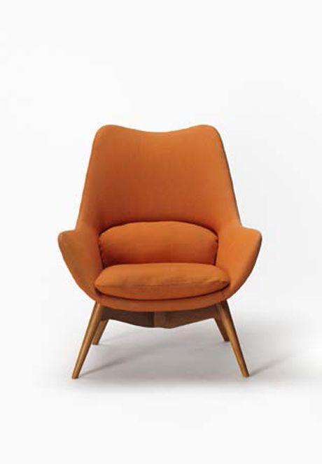 Orange Modern Chair