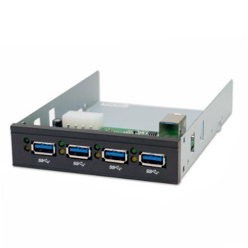 Io Crest Sy Hub20076 3 5 Inch Internal 4 Port Usb 3 0 Hub Design