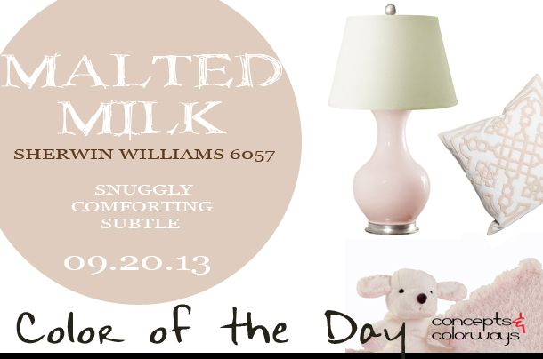 Malted Milk Sw 6057 Is Snuggly Comforting And Subtle Where Would You Use This Pale Red Paint Color