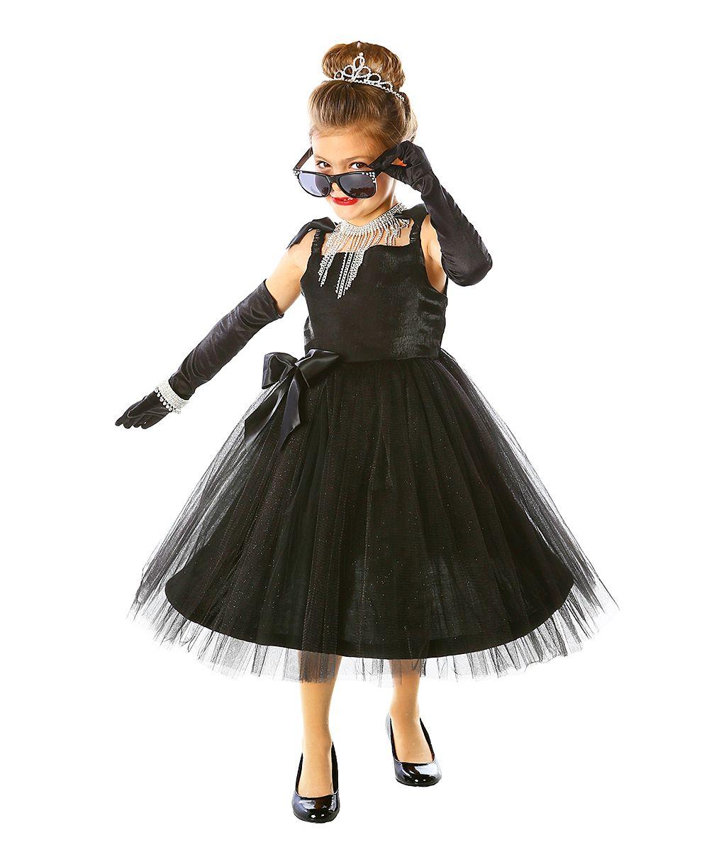 black movie star dress up outfit kids sugar spice. Black Bedroom Furniture Sets. Home Design Ideas